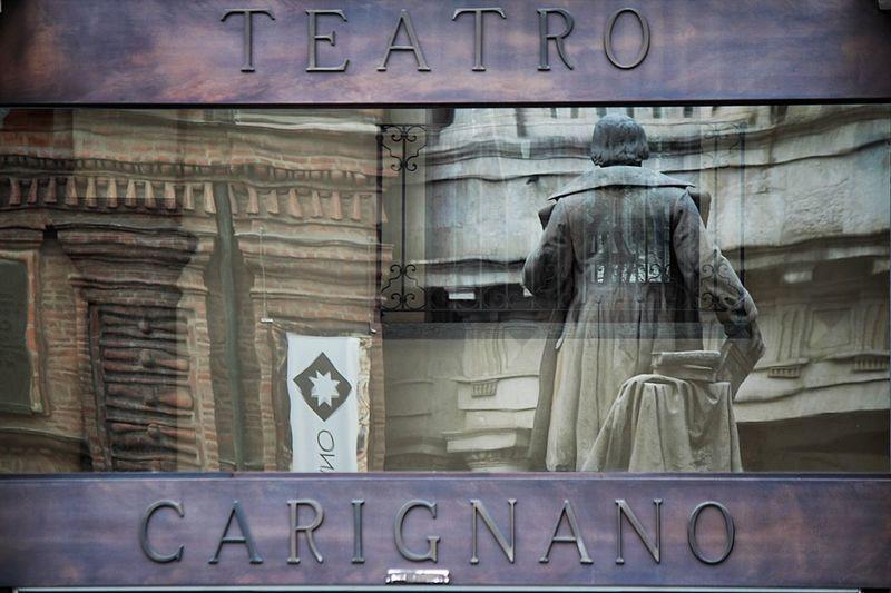 Hidden Gems  Turin Italy Teatro Carignano Torino Canon
