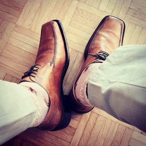 Heute nochmal den Frühling supporten. #Schuhezeigen für Annegret und drehumdiebolzen. Shoes Socks Schuhe  Socken Schuhezeigen Achile