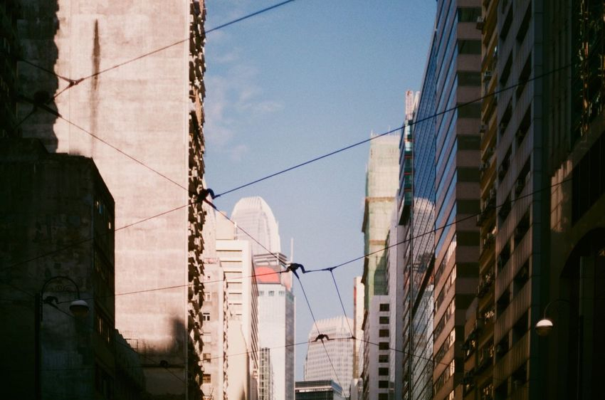 The Changing City Film Analog HongKong Konica
