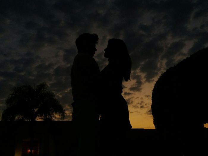 Love Togetherness Love Silhouette Silouette & Sky Sunset