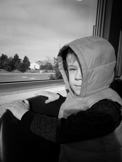 Waiting. Young Black And White Photography Indoors  Inside Photography Black & White Sky Iris - Eye