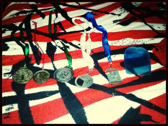 Con mi esfuerzo y determinacion eh tenido estos triunfos :')