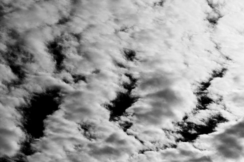 Dream Dreaming Imagination Life Peace Weather Beauty In Nature Blackandwhite Cloud - Sky Clouds Clouds And Sky Contrast Dreamy Environment Majestic Monochrome Monochrome Photography Nature Outdoors Sky Sky Only Thoughts Tranquil Scene Tranquility