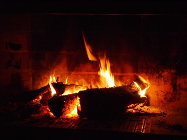 En contemplacion ! Relaxing Moments Relaxing Time Domestic life Llar De Foc Home Interior Living Room Heat - Temperature Fire Flame Fireplace Night Ayurvedic Medicine Ayurveda EyeEmNewHere