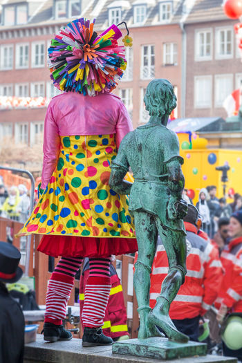 Carneval Rosenmontag, Duesseldorf, Germany Carneval Colors Of Carnival Costume Deutschland Duesseldorf Düsseldorf Germany Karneval Kostüme Rosenmontag Standing The Street Photographer - 2016 EyeEm Awards Colour Of Life Two Is Better Than One TakeoverContrast Carnival Crowds and Details Carnival The Street Photographer - 2018 EyeEm Awards