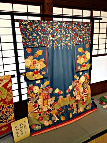 """The Purist (no Edit, No Filter) Kimono Colors Japanese Style 「都おどり」で舞妓さんが着用した着物。The clothes which apprentice geisha wore by """"miyako odori"""""""