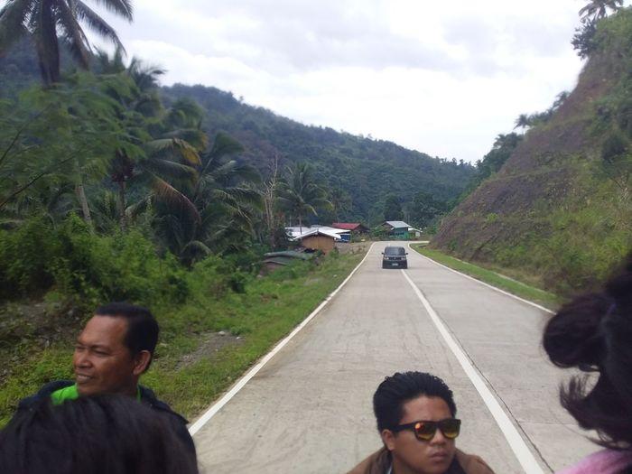 enjoying trip