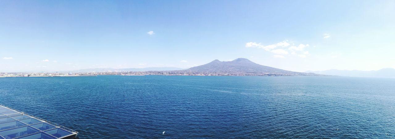 Napoli La Più Bella Del Mondo Blue Sea Sky Travel Punti Di Vista...