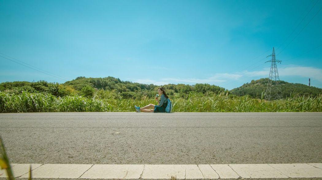 The Week On EyeEm Outdoors Blue Sky Real People Nature Self Portrait Traveling