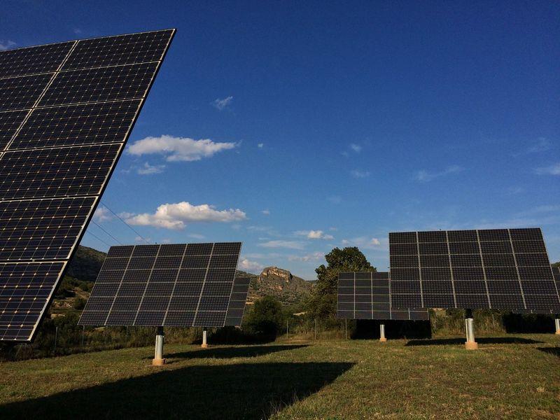 Solar Energy Solar Panels Solar Power Electricity  Sun Energy Renewable Energy