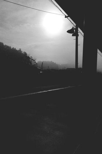 Foggy morning. OneCam EyeEm Japan Scenery Blackandwhite