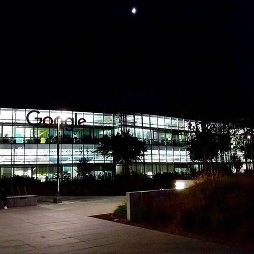 Googleplex at night