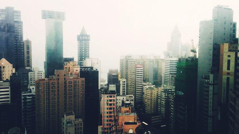 Foggy Day Traveling HongKong I Love Hong Kong The Architect - 2015 EyeEm Awards