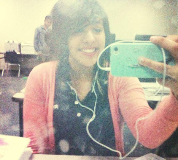 Being a cutie.✌