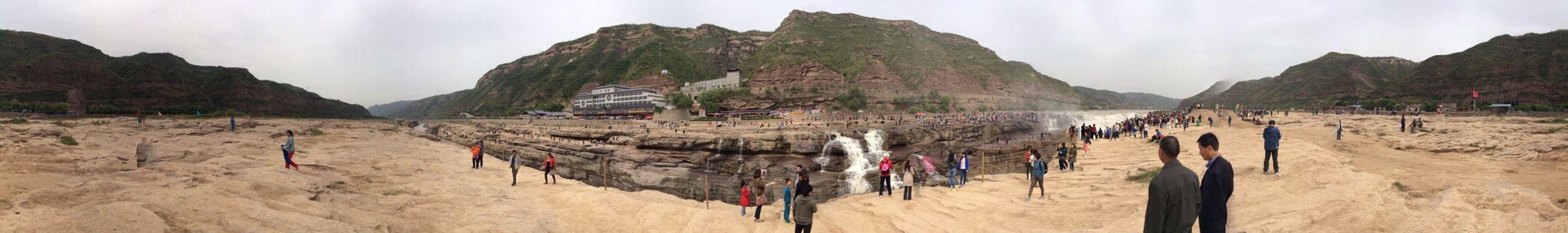 壶口瀑布 Hanging Out Traveling In China Shanxi