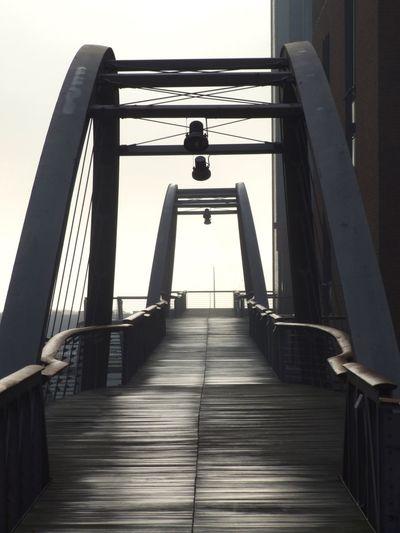 My Favourite Bridge Hamburg Bridge Bridges Lines Architecture Wintertime