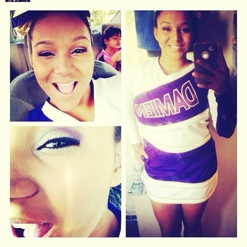 Even Though Im A Soccer Girl Cheer Will Always Be In My Heart :)