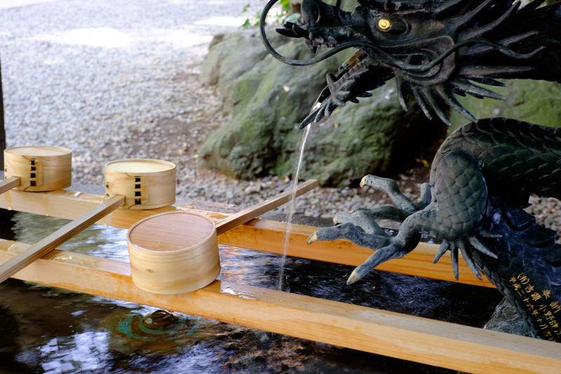 川越氷川神社 Fujifilm Fujifilm X-E2 Fujifilm_xseries Japan Japan Photography Japanese Culture Shrine Water ちょうずや 埼玉 小江戸 川越 川越氷川神社 手水舎 氷川神社 神社 神社仏閣