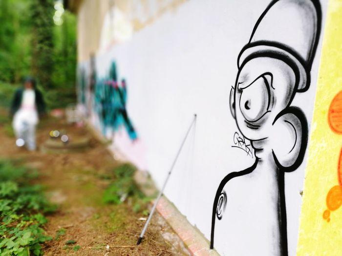 Graffiti in the