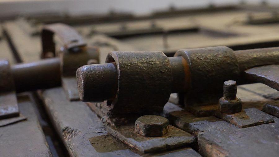 Lock Locks Bolt Deadbolt Iron Heavy Door Bolted Wooden Door Hanoi Vietnam  Iron Work Iron - Metal Iron