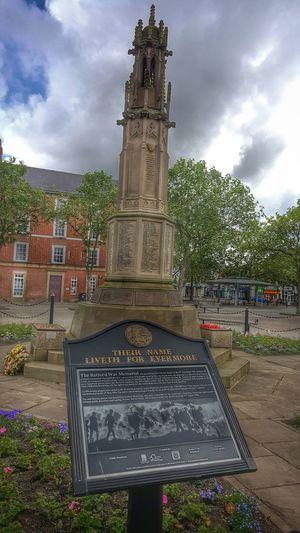 War Memorial Retford Nottnghamshire England