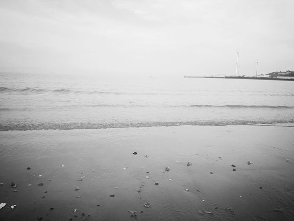 Being A Beach Bum Sandcastles Sea And Sky Swimming Sea Blackandwhite Photography Deep Sea Waves Tide Out tide is out