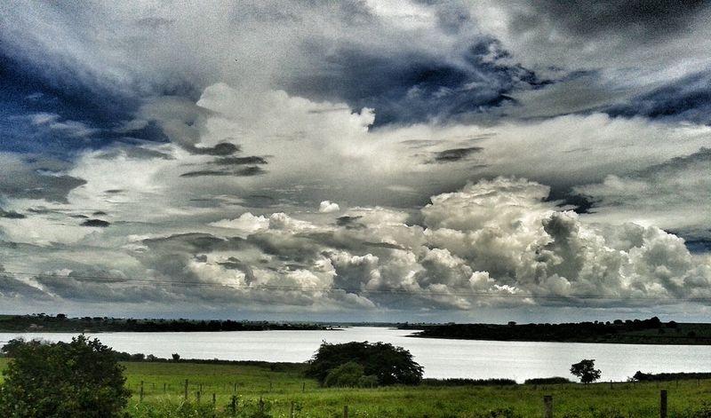 Sky Clouds Bluesky Nature Country Life Brazil Penapolis