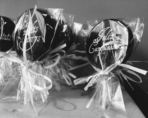Chocolate Black & White Light And Shadow Sweet Smell