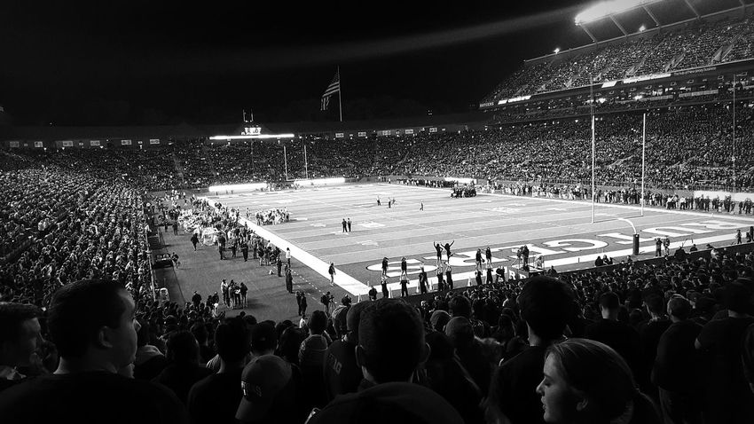 Rutgers University vs. Michigan State Blackout game. 10/10/2015 Rutgersfootball Michigan State Scarletknights First Eyeem Photo