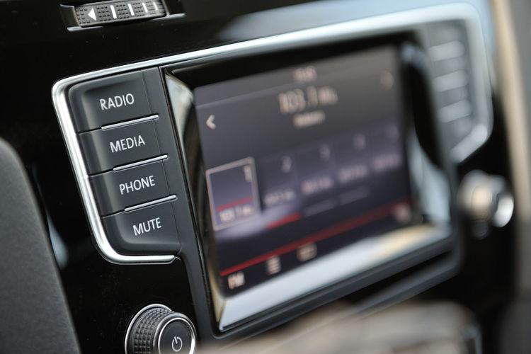 Audio Automobile Panel Screen Transportation Car Car Interior Close-up Communication Control Control Panel Dashboard Display Inside Interior Multimedia Music Phone Push Button Radio Technology
