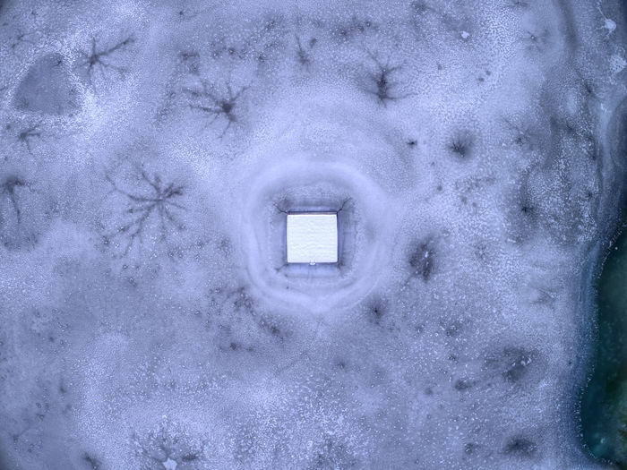 Frozen Ice Nature Photography Winter Birdseyeview Bluewater Dronephotography Lake