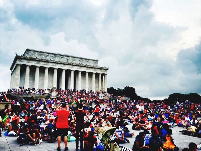 Festival Season Fourth of July at the monuments in DC! Amazing shot Check This Out Taking Photos Enjoying Life Hello World Fourth Of July Independence Day Washington, D. C. Awesome Memorial