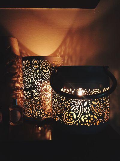 Candle light. Late night. Taking Photos Hi!