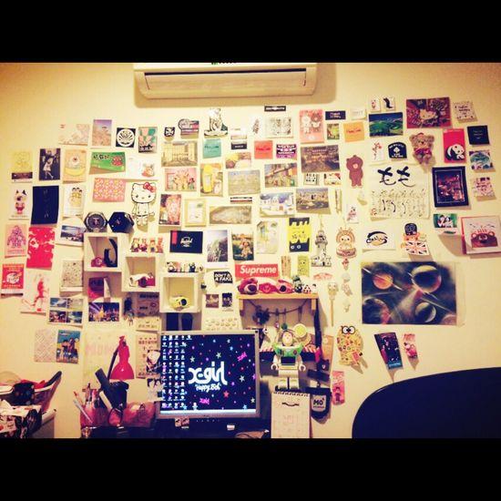 Wall Postcard College Love