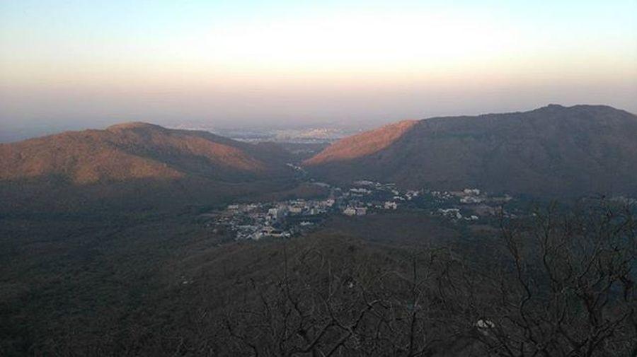 Girnar Sunrise Morningtime Mountains