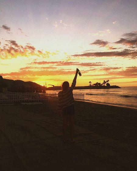 Like a dream Sunset Beauty In First Eyeem Photo