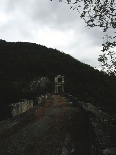 Solitudine Dam Old Piemonte Italy Italia IT Nature Tree Astronomy Water Hill Abandoned Spooky Sky Architecture Building Exterior Built Structure Old Ruin