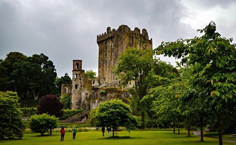 Blarney Castle Ireland Ireland🍀 Castle Architecture Sky Tree Grass Building Exterior Cloud - Sky History Old Ruin Castle Built Structure My Year My View Outdoors Low Angle View Nature Day Beauty In Nature Medieval Traveling Travel Travel Destinations Travel Photography