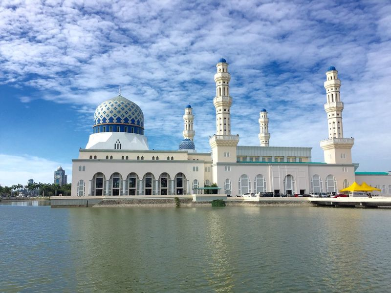 Mosque Kota Kinabalu Architecture Southeast Asia Travel IPhoneography