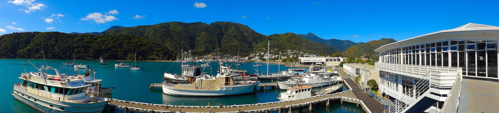 New Zealand Picton  Panorama Port The Great Outdoors - 2015 EyeEm Awards