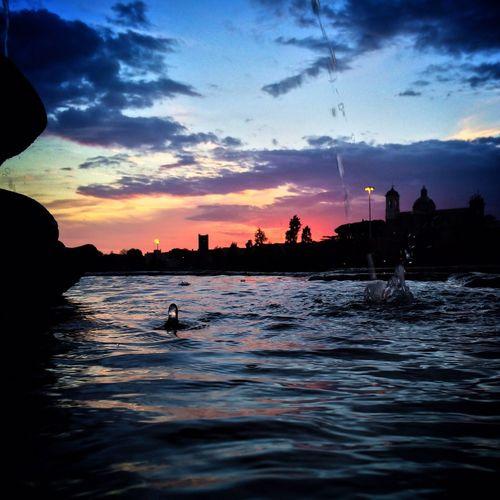 Sunset from Viterbo NEM Architecture NEM Submissions NEM Landscapes NEM Clouds