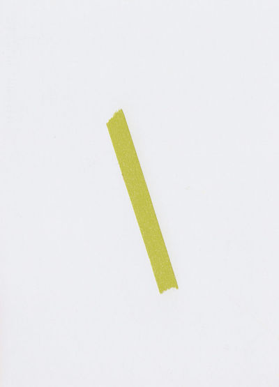 High angle view of paper on white background