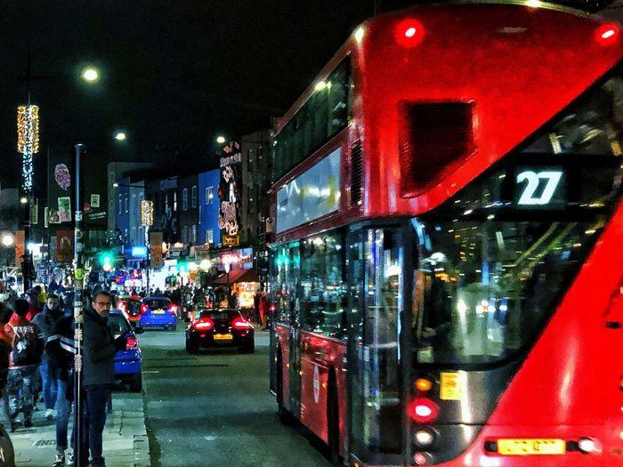 Night Mode Of Transportation Transportation City Land Vehicle Illuminated Street