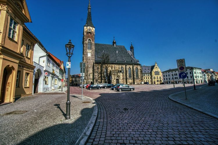 Architecture Building Exterior Built Structure Building City Sky Transportation Religion Place Of Worship Street Belief Tower Nature Spirituality Cobblestone Travel Destinations Clear Sky Day Outdoors Paving Stone Clock St.Jakob