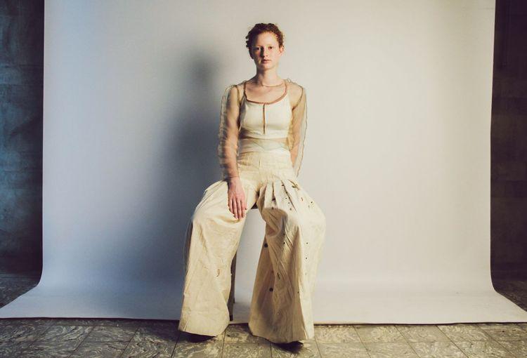 The Portraitist - 2017 EyeEm Awards Full Length One Person Portrait Beautiful Woman Studio Shot Fashion