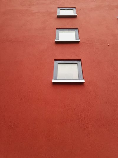 Building Exterior Architecture Built Structure Window Full Frame No People Red