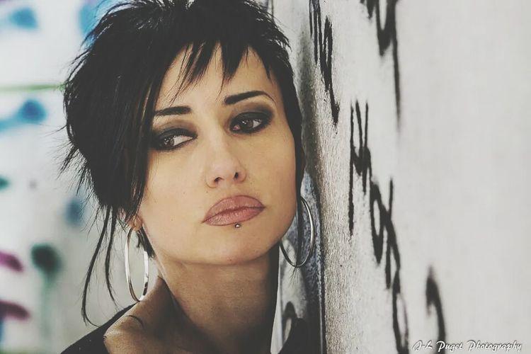 Portrait Fashion Model Woman