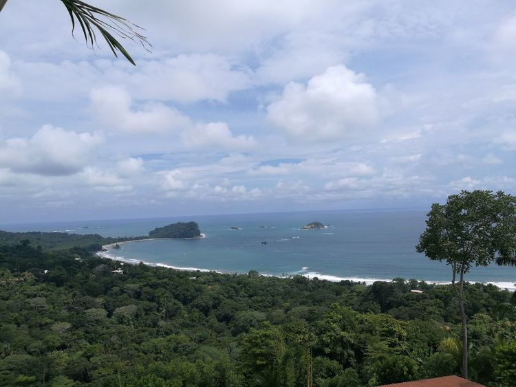 Beach Sea Water Cloud - Sky Horizon Over Water Vacations Tranquility Travel Destinations Manuel Antonio