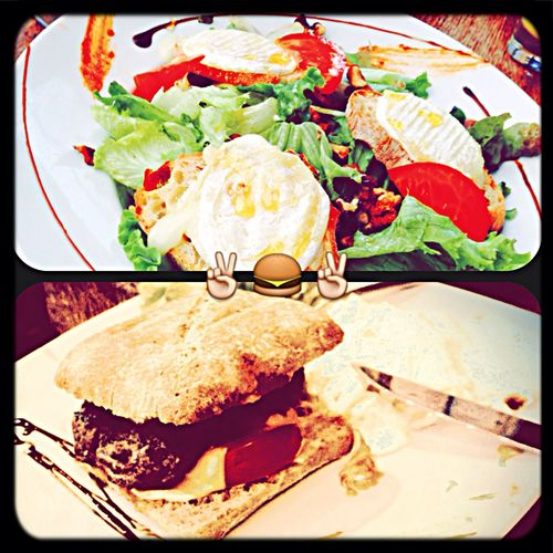 Foodporn Hungryman hello sweety burger :)