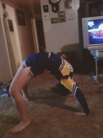 Backbend Flexible Cheer